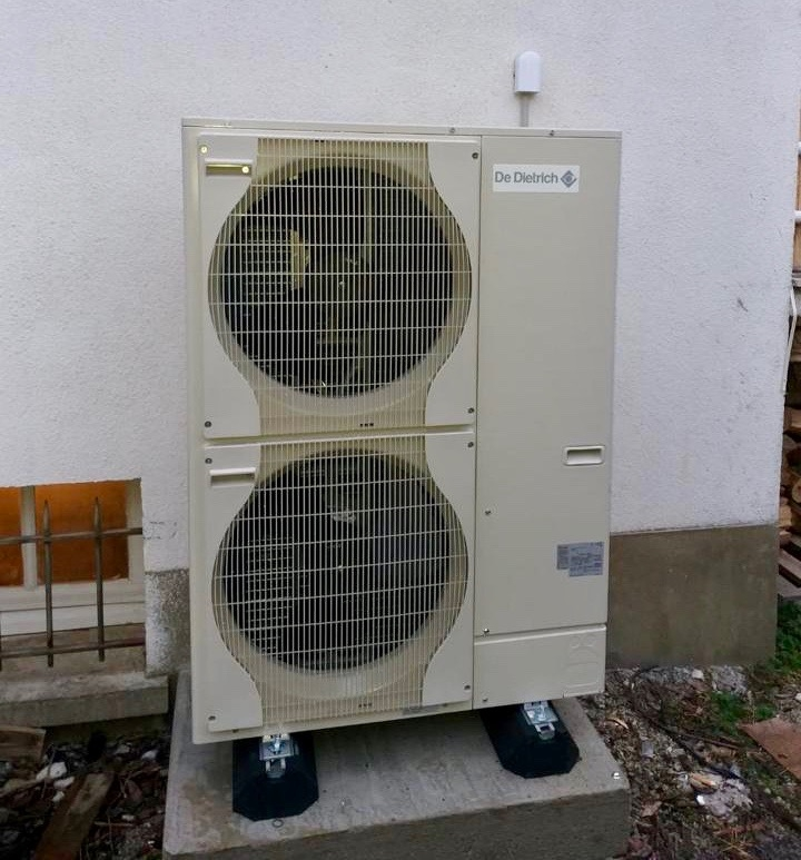 Pompe à Chaleur Air/Eau De Dietrich Evolution Alezio 11 kW Monophasée à Louvie-Juzon (64260)